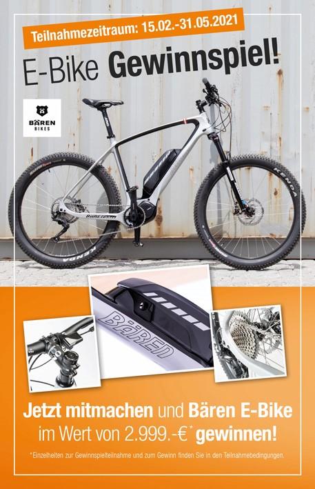 Microsite E-Bike Gewinnspiel
